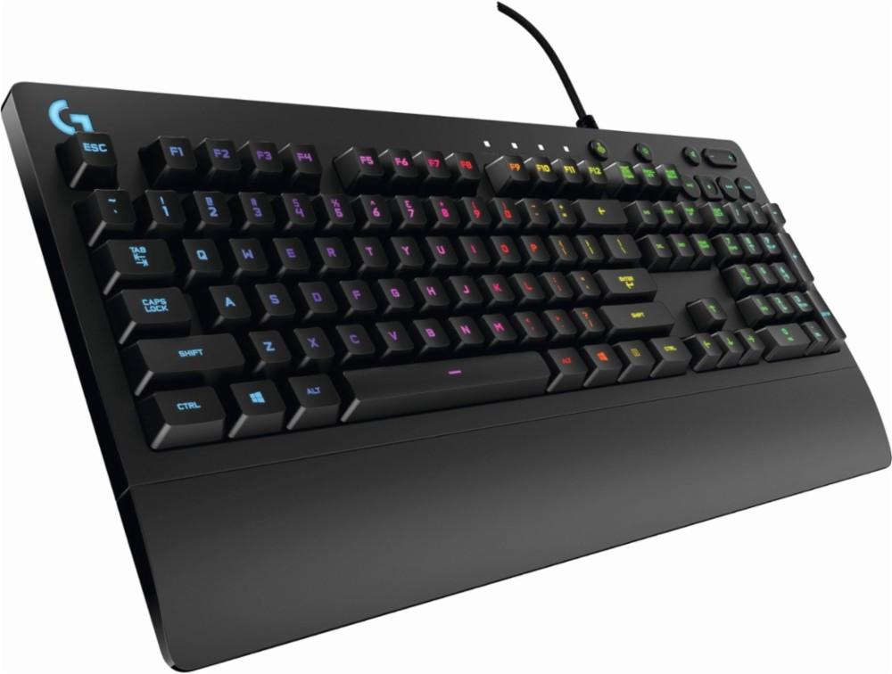Logitech - Prodigy G213 USB Keyboard - Black
