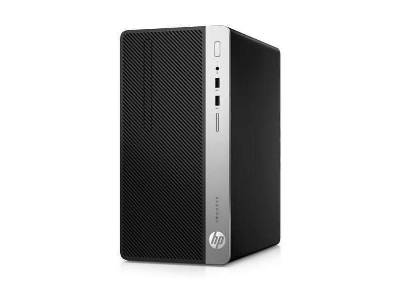 HP ProDesk 400 G5 3GHz i5-8500 Micro Tower 8th gen Intel® Core™ i5 Black, Silver PC