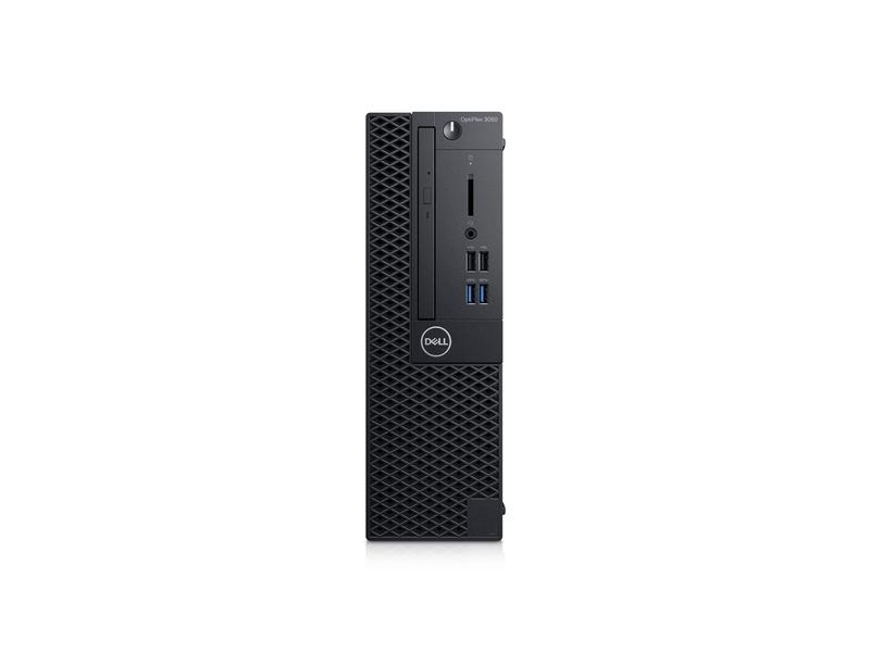 DELL OptiPlex 3060 3.6GHz i3-8100 SFF 8th gen Intel® Core™ i3 Black PC