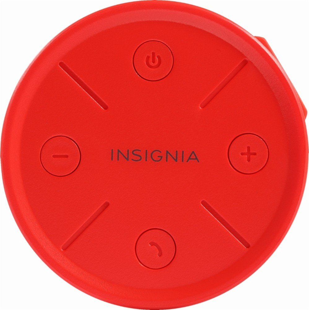 Insignia WAVE 2 Portable Bluetooth Speaker (Red)