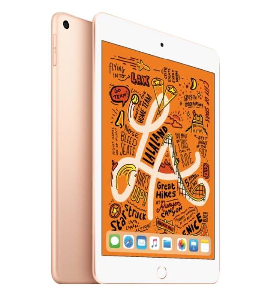 """Apple iPad mini 7.9"""" (5th Gen) Wi-Fi + Cellular 64GB Gold (2019)"""