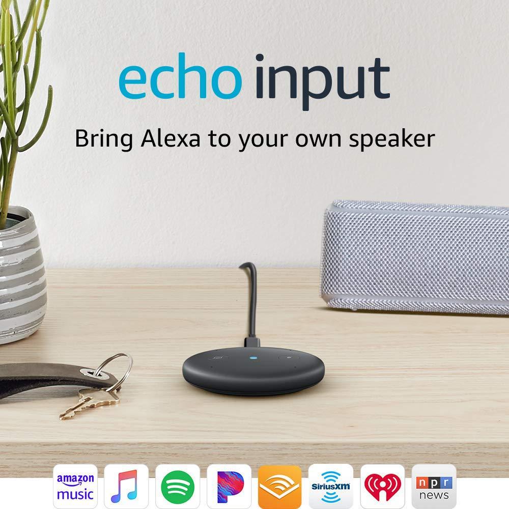 Amazon Echo Input (Black)