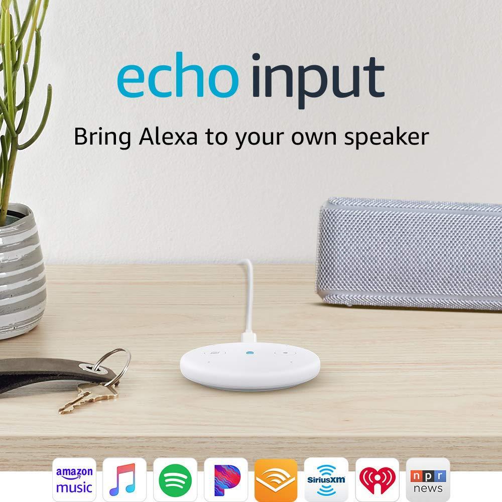 Amazon Echo Input (White)