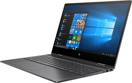 "HP ENVY x360 15-cp0053cl (Ryzen 5 2500U/8GB/256GB SSD) Win 10, 15.6"" FHD Touch (Nightfall Black)"