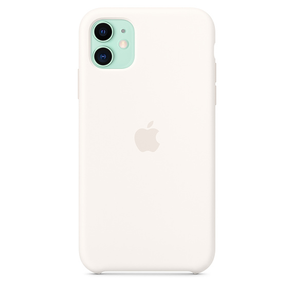 Apple iPhone 11 Silicone Case White