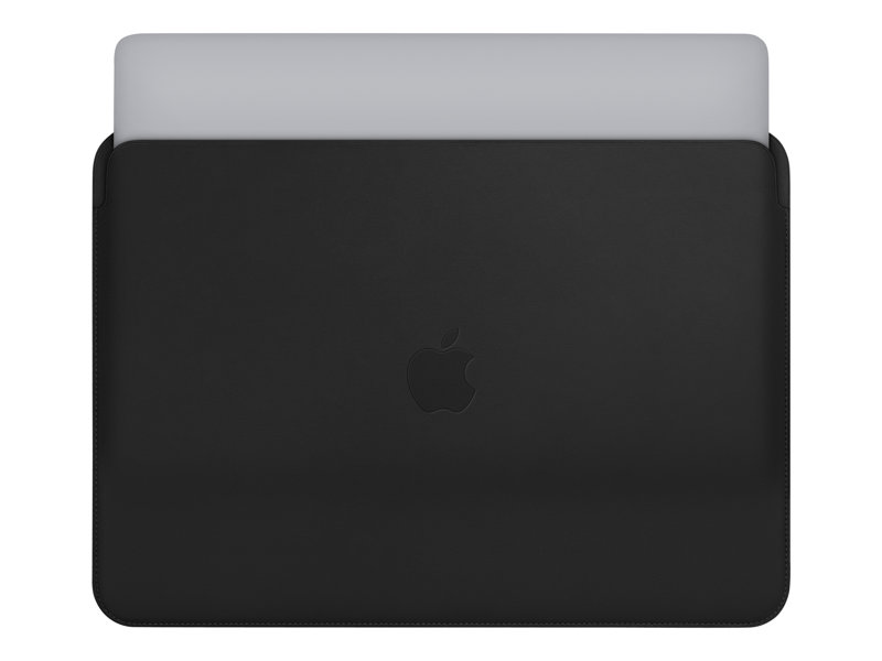 "Apple notebook leather sleeve MacBook Pro 13"", Black"