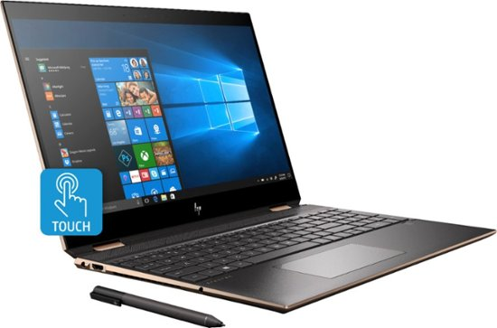 "HP Spectre x360 15-DF1033DX 2-in-1 (i7-10510U/16GB/512GB SSD+32GB Optane/MX250 2GB) Win 10, 15.6"" UHD (4K)"
