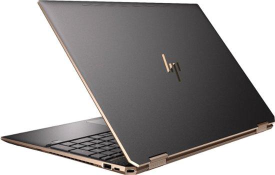 "HP Spectre x360 15-df1045nr (i7-9750H/16GB/512GB SSD+ 32GB Intel® Optane™/ GTX 1650 4GB) Win 10, 15.6"" IPS UHD(4K) Touch (Dark Ash Silver)"