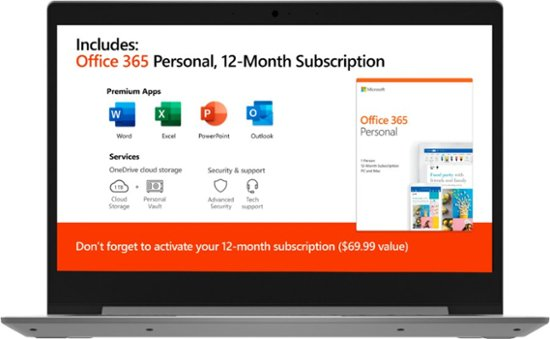 "Lenovo IdeaPad 1 14 81VS0001US (A6-9220E/4GB/64GB eMMC) Win 10, 14"" HD"