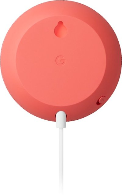 Google Nest Mini (2nd Generation) (Coral)
