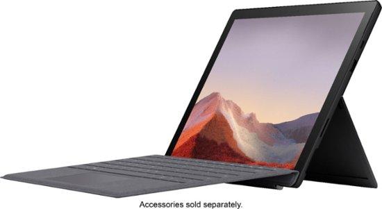 "Microsoft Surface Pro 7 (i5-1035G4/8GB/256GB SSD) Win 10, 12.3"" (2736x1824) (Matte Black)"