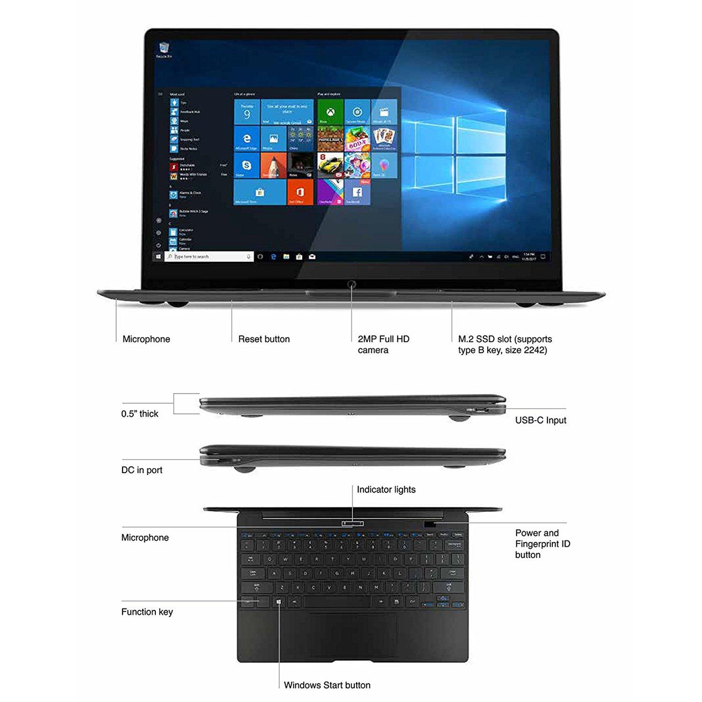 """Με το NuVision Encite Book 12 Plus, μπορείτε να έχετε πάντα και παντού μαζί σας ένα λεπτό, κομψό και πανάλαφρο laptop, για την εκτέλεση των καθημερινών σας εργασιών. Με βάρος οριακά περισσότερο του ενός κιλού, και 12.5"""" οθόνη QHD ανάλυσης, ήρθε για ν' αλλάξει την καθημερινότητα σας."""