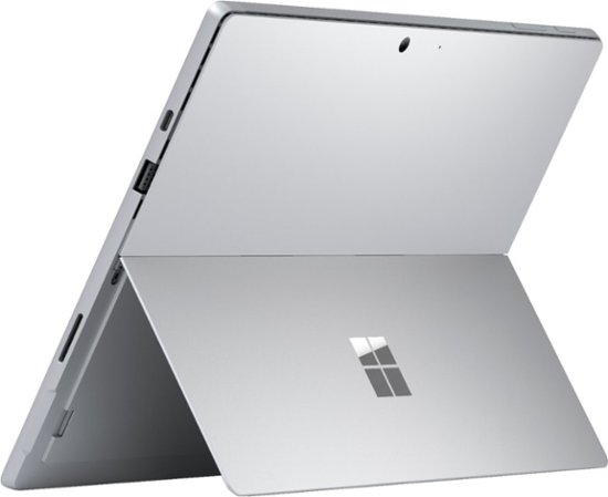 "Microsoft Surface Pro 7 (i3-1005G1/4GB/128GB SSD) Win 10, 12.3"" (2736 x 1824) Bundle, SP7 (Platinum)+ Type Cover (Black)"