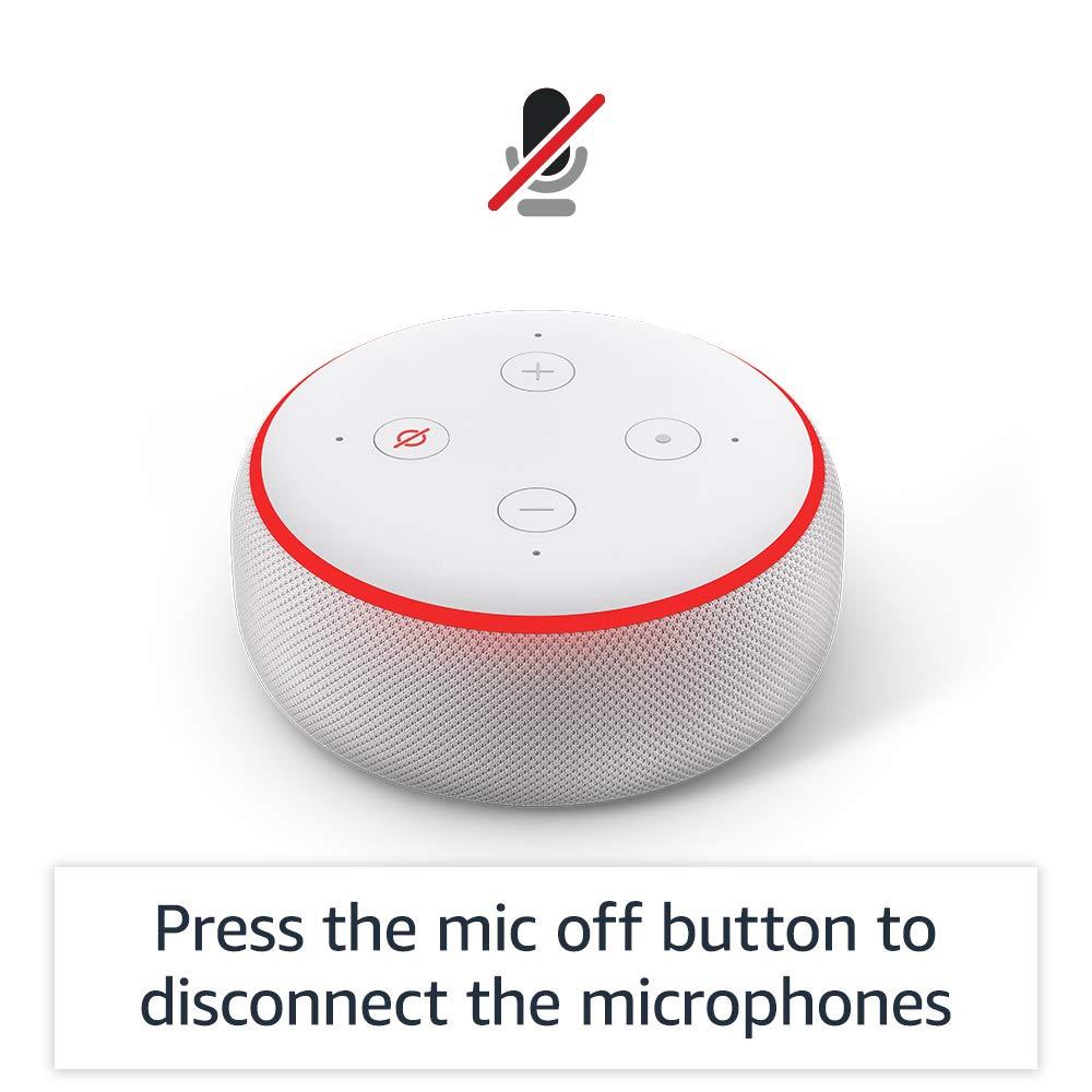 Amazon Echo Dot (3rd Gen) (Plum)