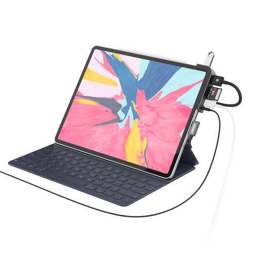 "Kanex iAdapt 6-in-1 Multiport USB Type-C Docking Station for 11"" & 12.9"" iPad Pro"