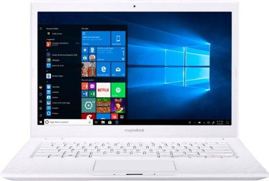 """ASUS ImagineBook MJ401TA (m3-8100Y/4GB/128GB SSD) Win 10 S, 14"""" FHD"""