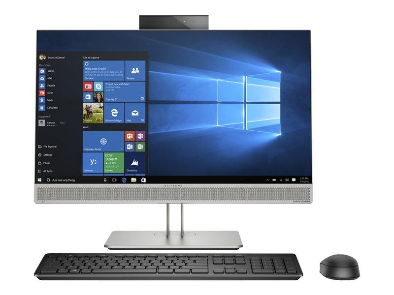 "HP EliteOne 800 G5 All-in-One (i7-9700K/8GB/512GB) Win 10 Pro, 23.8"" FHD"