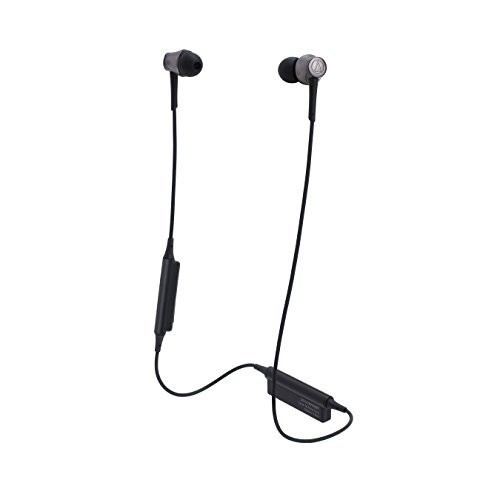 Audio Technica ATH-CKR55BT Sound Reality Wireless In-Ear Headphones (Black)