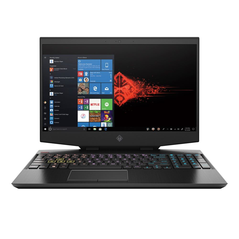"HP OMEN 15-dh1054nr (i7-10750H/16GB/512GB SSD/GTX 1660Ti 6GB) Win 10, 15.6"" IPS FHD (144Hz)"