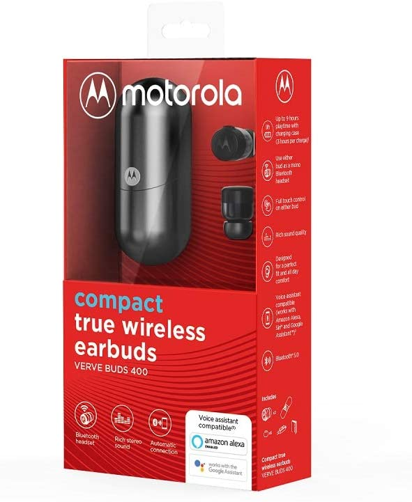 Motorola Vervebuds 400 Wireless Earbuds