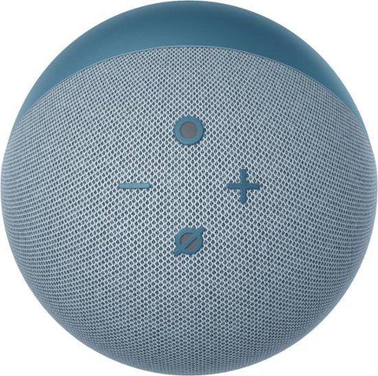 Amazon Echo dot (4th Gen) with clock έξυπνο ηχείο/ voice assistant (Twilight Blue)