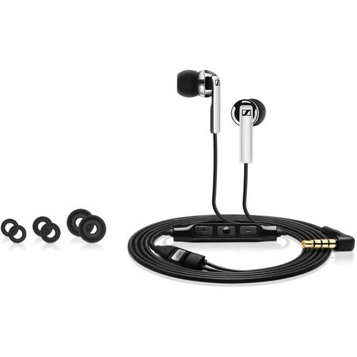 Sennheiser CX 2.00I Earphones (Black, Apple iOS)