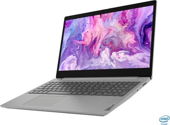 "Lenovo IdeaPad 3 (i5-1035G1/12GB/256GB SSD) Win 10 S, 15.6"" HD Touch (Platinum Gray)"
