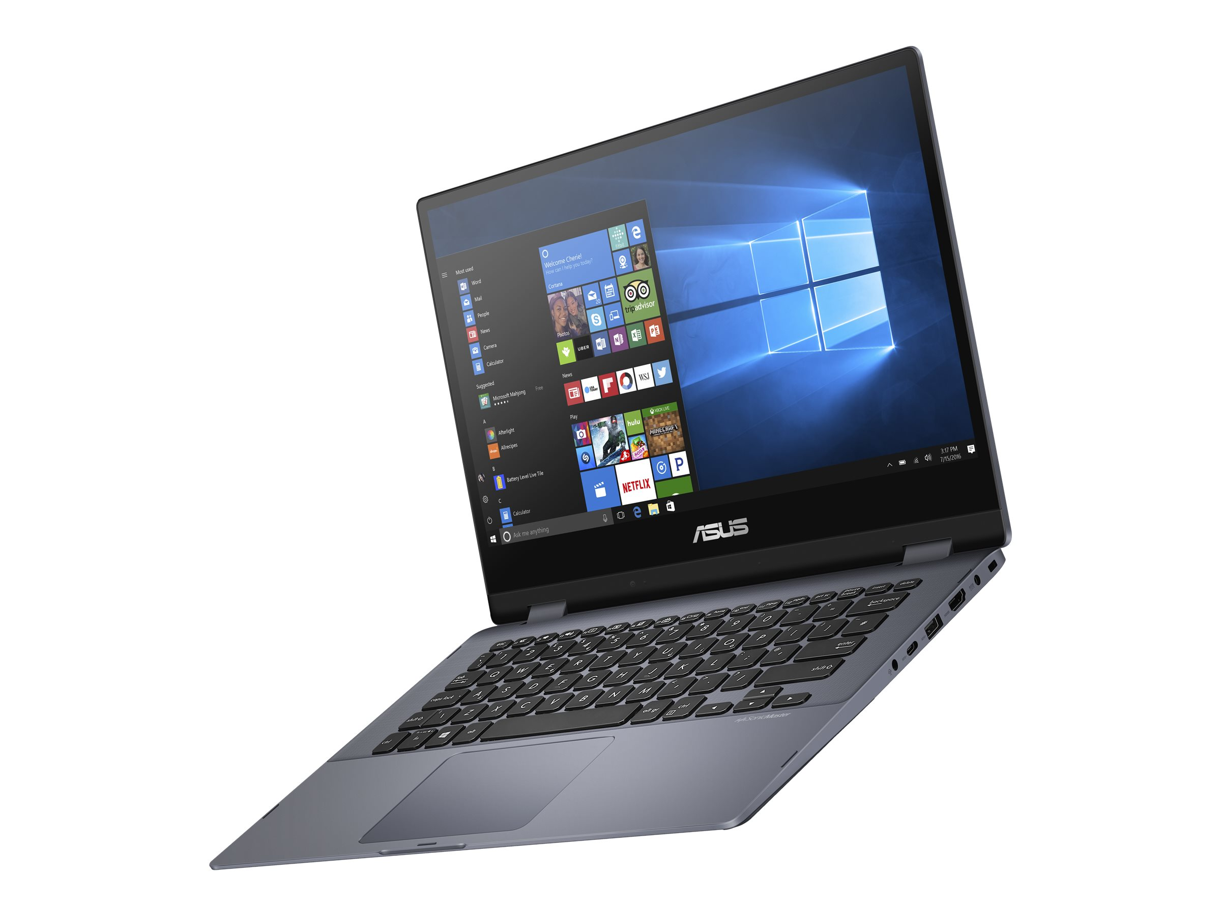 "ASUS VivoBook Flip 14 TP412FA-XB56T 2-in-1 (i5-10210U/8GB/512GB SSD) Win 10 Pro, 14"" FHD Touch"