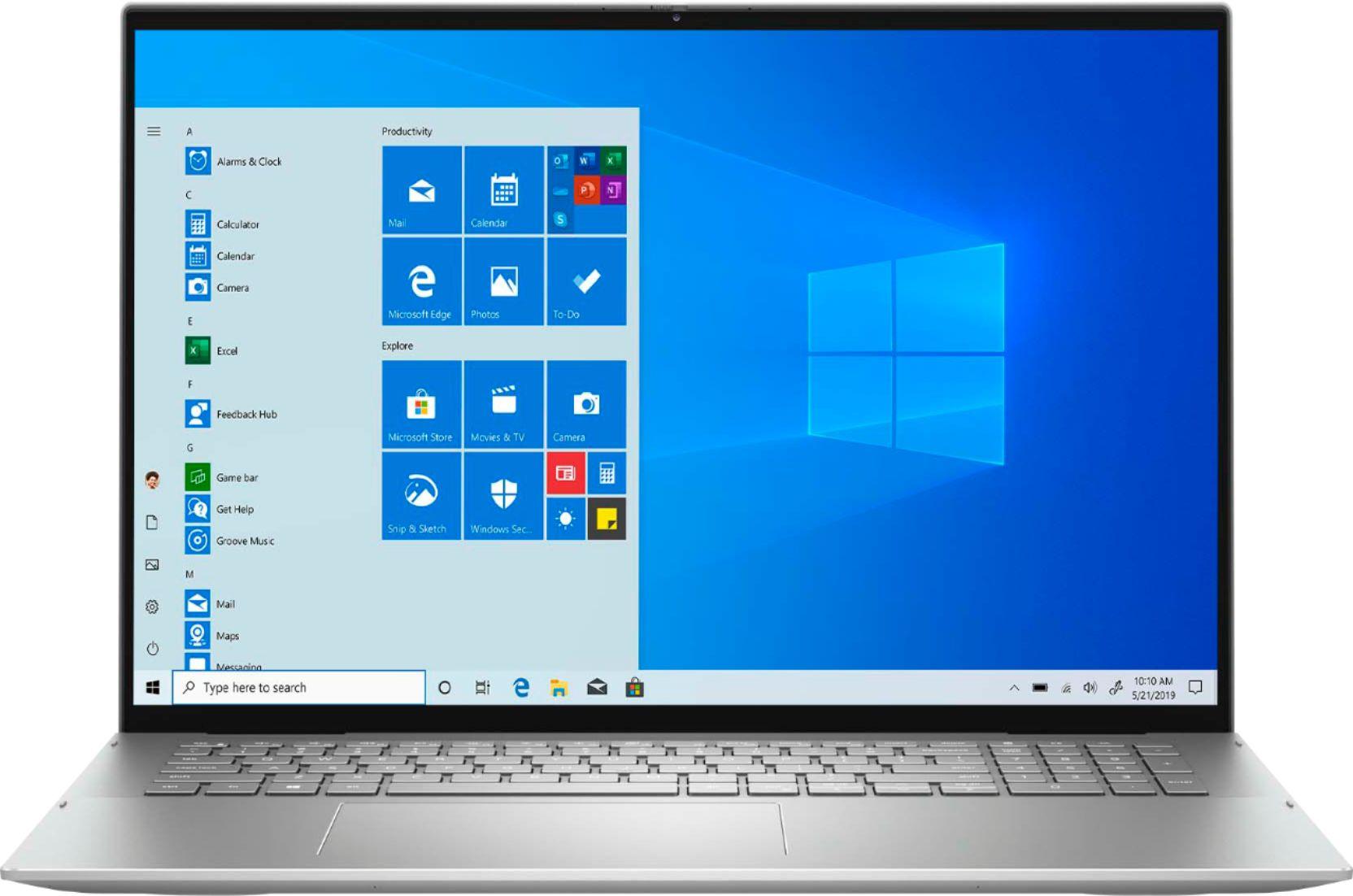 "Dell Inspiron 7000 2-in-1 (i7-1165G7/16GB/512SSD +32GB Optane/MX350  2GB) Win 10, 17.3"" IPS QHD+ Touch (Silver)"