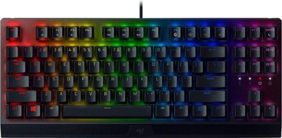Razer BlackWidow V3 Tenkeyless Mechanical Gaming Keyboard (Razer Green/Tactile & Clicky, US QWERTY)