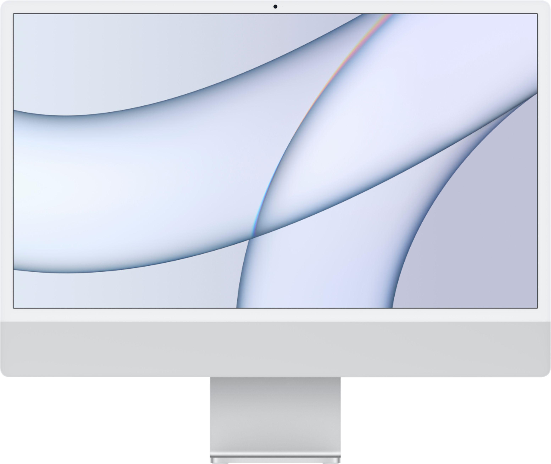 "Apple iMac 24"" with 4.5K Display (M1 8-core CPU/7-coreGPU/8GB/256GB SSD) Mac Os Big Sur (Mid 2021, Silver)"