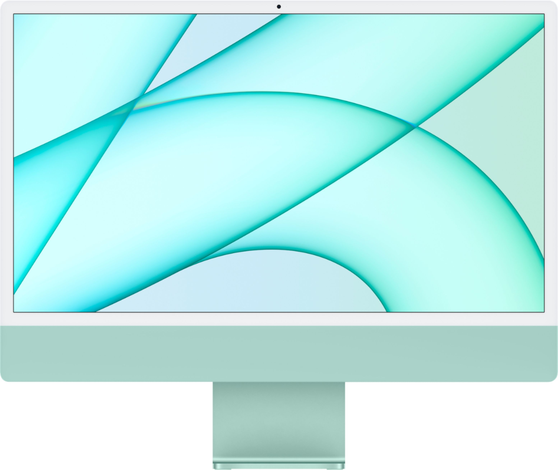 "Apple iMac 24"" with 4.5K Display (M1 8-core CPU/7-coreGPU/8GB/256GB SSD) Mac Os Big Sur (Mid 2021, Green)"