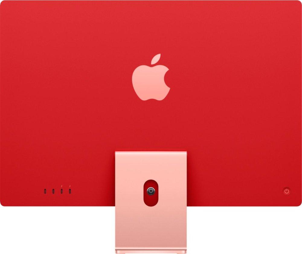 "Apple iMac 24"" with 4.5K Display (M1 8-core CPU/8-coreGPU/8GB/256GB SSD) Mac Os Big Sur (Mid 2021, Pink)"