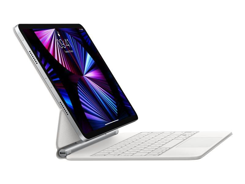 "Apple Magic Keyboard folio Προστατευτική Θήκη με trackpad για 11"" iPad Pro (1ης, 2ης, 3ης Γενιάς, Λευκό, UK QWERTY)"