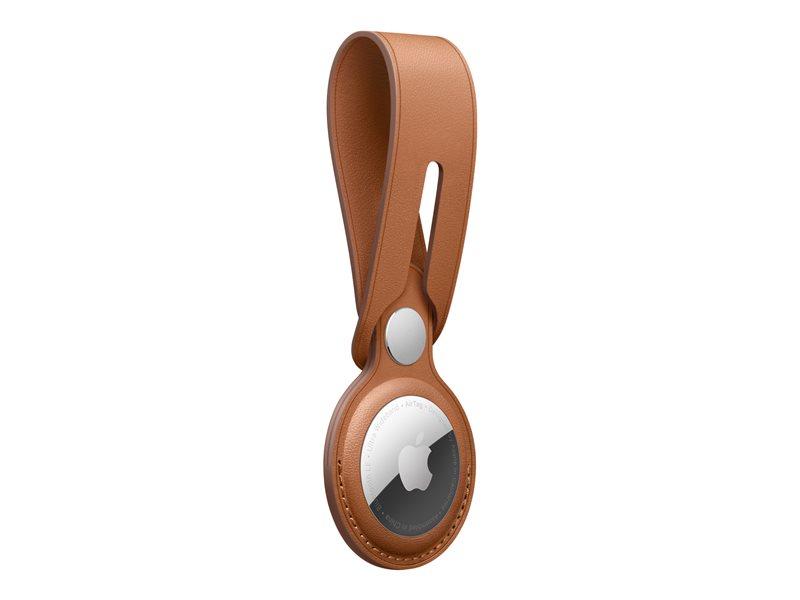 Apple airTag Loop (Saddle brown) - Δερμάτινο
