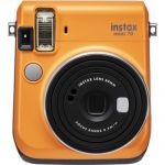 FUJIFILM INSTAX Mini 70 Instant Film Camera (Clementine Orange)