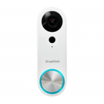 SimpliSafe  Pro Smart Wi-Fi Video Doorbell - Wired - White