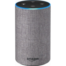 Amazon Echo 2nd Generation (Heather Gray Fabric)
