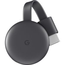 Google Chromecast (Charcoal, 3rd Generation)
