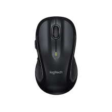 Logitech M510 Wireless Laser Mouse (Black)