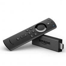 Fire TV Stick with Alexa Voice Remote (1080p HD)