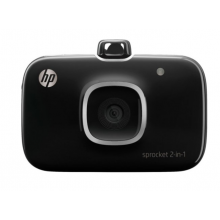 HP Sprocket 2-in-1 Photo Printer (Black)