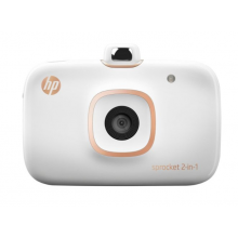 HP Sprocket 2-in-1 Photo Printer (White)