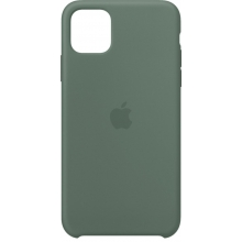 Apple iPhone 11 Pro Max Silicone Case Pine Green