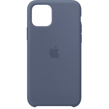 Apple iPhone 11 Pro Silicone Case Alaskan Blue