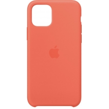 Apple iPhone 11 Pro Silicone Case Clementine Orange
