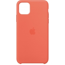 Apple iPhone 11 Pro Max Silicone Case Clementine (Orange)