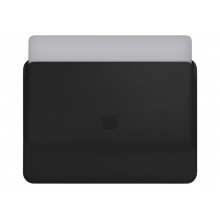 "Apple notebook leather sleeve MacBook Pro 13"", Black"
