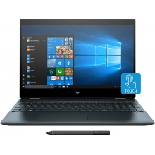 "HP Spectre x360 15T 2-in-1 (i7-9750H/16GB/512GB SSD+32GB Optane/GTX 1650 4GB) Win 10 Pro, 15.6"" IPS UHD (4K) AMOLED Touch (Poseidon blue, stylus included)"