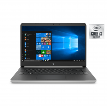 "Notebook 14-dq1037wm (i3-1005G1/4GB/128GB SSD) Win 10 S, 14"" HD (Natural Silver)"